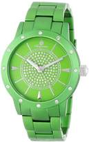 Burgmeister Crazy Color Women's Quartz Watch with Green Dial Analogue Display and Green Bracelet BM164-090C