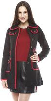 Knitted Dove Bardot Coat