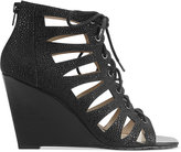 INC International Concepts Women's Silviah Lace Up Wedge Sandals