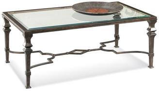 Bassett Mirror Lido Rectangle Cocktail Table