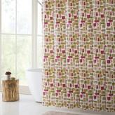 Vcny Home VCNY Merry Gifts PEVA Shower Curtain, Bath Rug & Hook Set