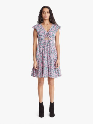 Banjanan Betty Mini Dress - Audrey Sprig Sachet Pink