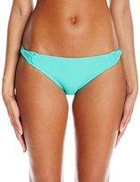 CoCo Reef Women's Color Blocked Skinny Dip Bikini Bottom