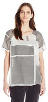 Calvin Klein Jeans Women's Double Layer Printed Tee