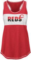 Majestic Women's Cincinnati Reds Gametime Glitz Tank Top