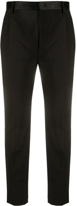 Dondup Cropped Tuxedo Trousers