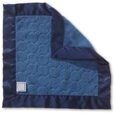Swaddle Designs Puff Circle Softness Baby Lovie Security Blanket in Navy Blue