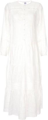 Elodie K Sir. long sleeved maxi dress