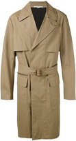 Stella McCartney trench coat - men - Cotton/Linen/Flax/Viscose - 52