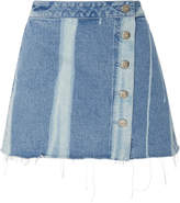 3x1 Higher Ground Denim Mini Skirt