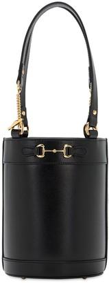 Gucci 1955 Horsebit Small Leather Bucket Bag
