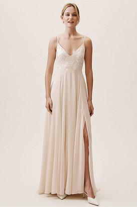 BHLDN Sadia Dress By in Beige Size 16