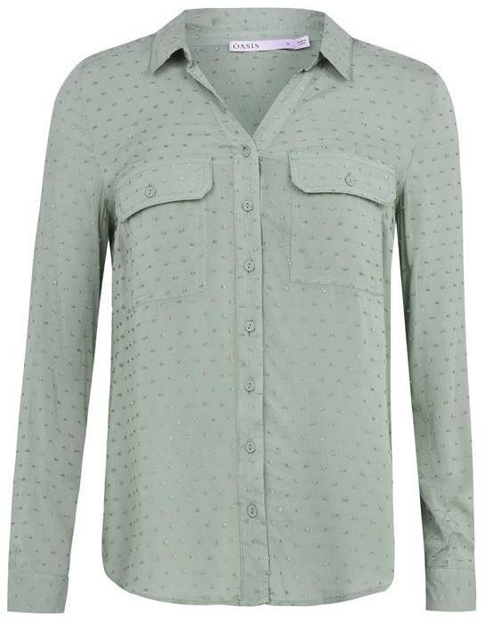 Oasis Dobby Detail Shirt