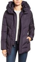 Larry Levine Women's Pillow Collar Quilted Coat