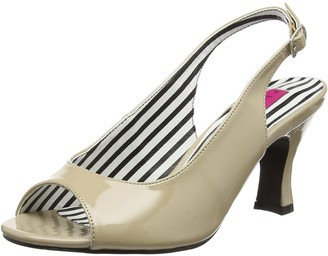 Pink Label Pleaser Women's Jenna02/Cr Dress Pump