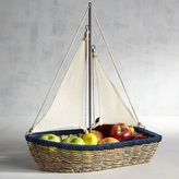 Pier 1 Imports Sailboat Fruit Bowl