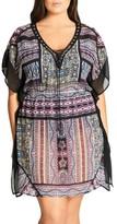 City Chic Plus Size Women's Boho Caftan Tunic