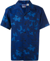 Blue Blue Japan floral print shortsleeved shirt - men - Lyocell - M