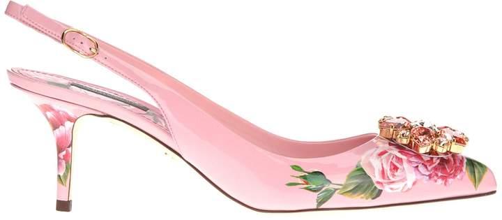 Dolce & Gabbana Sling Back Decollete