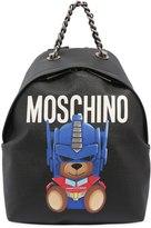 Moschino Small Teddy Transformer Backpack