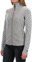 Obermeyer June Cardigan Sweater - Full Zip, Angora, Merino Wool (For Women)