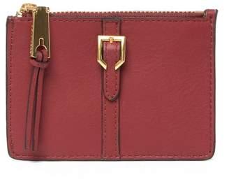 Cole Haan Kayden Leather Zip Card Case