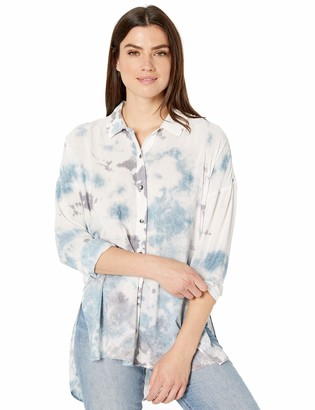 Splendid Women's Long Sleeve Tunic Shirt