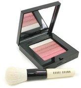 Bobbi Brown Bobbi Rose Shimmer Brick Set: Rose Shimmer Brick Compact + Mini Face Blender Brush (Limited Edition) 2pcs