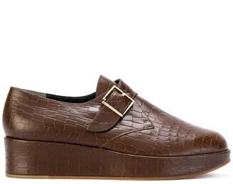 Clergerie Monk Strap Platform Loafers