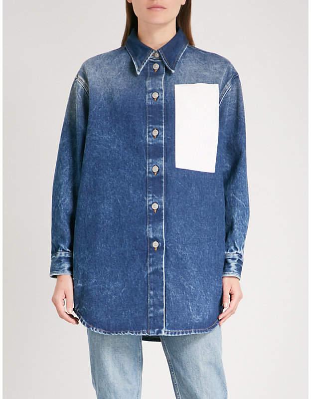 Maison Margiela Oversized denim shirt