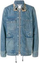 Sacai denim work jacket - men - Cotton/Polyester/Rayon - 1