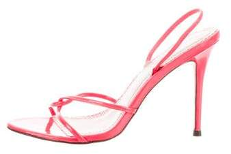 Jean-Michel Cazabat Knot-Accented Slingback Sandals