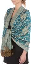 Sakkas Jacquard Paisley Pashmina Shawl Wrap Stole - Paisley