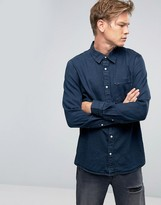 Weekday Class Denim Shirt OD-11 Blue
