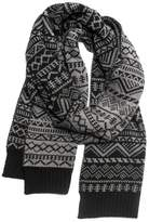Muk Luks Patterned Scarf - Men