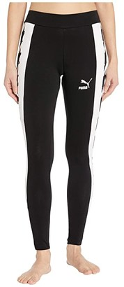 Puma Trend All Over Print Leggings (Black Houndstooth) Women's Casual Pants