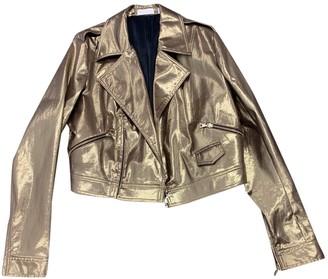 Sass & Bide Metallic Cotton Jackets