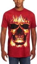 The Mountain Skulfire Skullfire Skull Fire Adult T-shirt 3XL