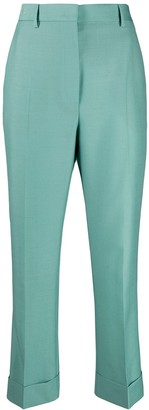 Fendi Cropped Tailored Trousers