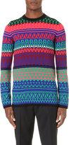 Mcq Alexander Mcqueen Fairisle Knit Wool Jumper