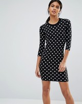 French Connection Tim Tim Spot Dress