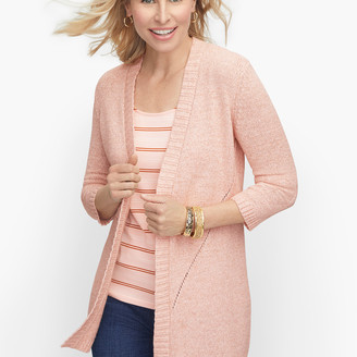 Talbots Open Front Sweater - Tweed