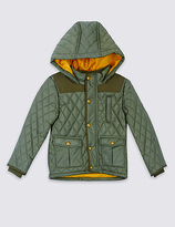 Marks and Spencer Quilted Coat with StormwearTM (3 Months - 7 Years)