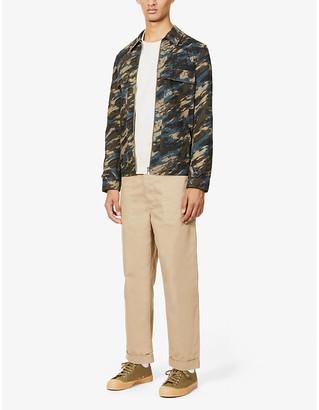 Paul Smith Camouflage-print cotton-twill jacket