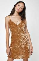 Lucca Couture Stella Crushed Velvet Dress