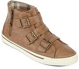 Arizona Izzy Buckle High-Top Sneakers