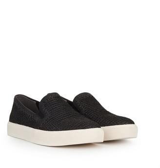 Erie Raffia Slip-On Sneaker