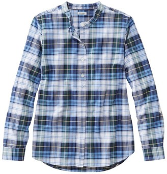 L.L. Bean L.L.Bean LakewashedA Organic Cotton Oxford Shirt, Roll Tab Plaid