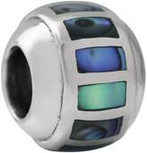 Samuel B Jewelry Sterling Silver Abalone Bar Charm