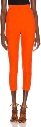 Alexander McQueen Tailored Pant in Amber | FWRD